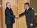 Meeting of Director General of the State Hermitage M.B. Piotrovsky with President of the Republic of Tatarstan R.N. Minnikhanov
